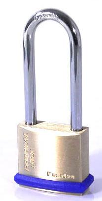 Federal 30mm Brass Padlock Long Shackle