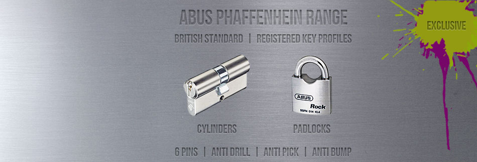 Abus Pfaffenhain Euro Cylinders and Padlocks