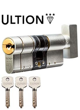 Ultion 3 Star Ts007 Euro Thumbturn Cylinder