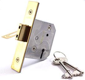 Union 2177 3 Lever Deadlock | Internal door lock
